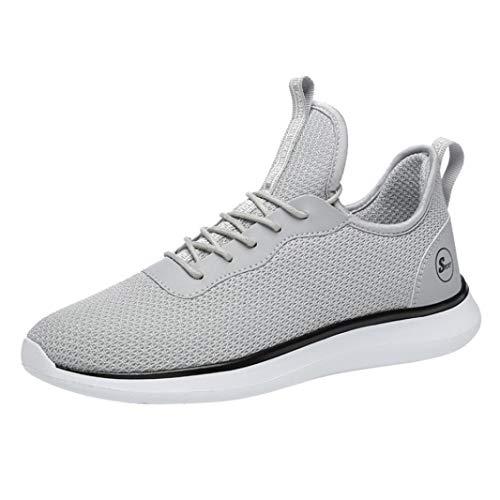 e111a157a0024 LuckyGirls Hommes Chaussures de Marche Antichoc Course Respirant 。