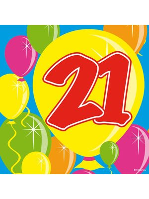 hl 21 Geburtstag Jubiläum ()