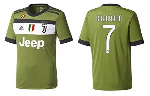 Trikot Kinder Juventus 2017-2018 Third Coppa/Scudetto - Cuadrado 7 (152)