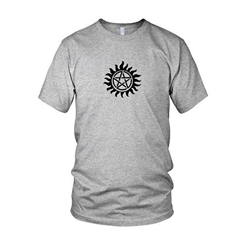 Winchester Bros. Logo - Herren T-Shirt Grau Meliert