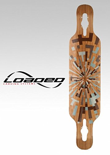 Loaded Longboard Cruiser Deck Tan Tien Drop Through - 38.9 x 8.7 inch Drop Thru, Flex Loaded:Flex - Dervish Sama Flex 1