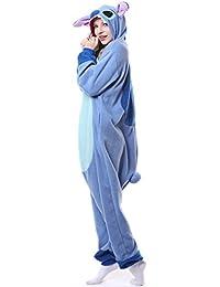 Pijama unisex de una sola pieza con diseño de Pikachu, para adultos., color