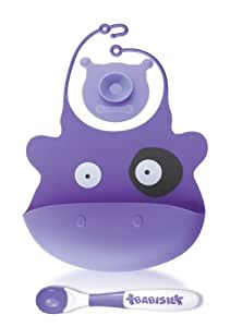 Babisil Mu Munch Set (Purple Cow)