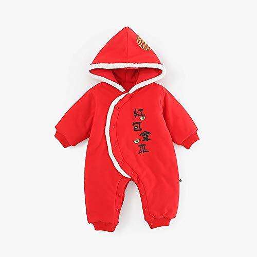 MQQXbaby - Kleidung, neugeborenen Overalls, Jungen und mädchen gehen zu halten warm Silvester Kleidung,b,90cm