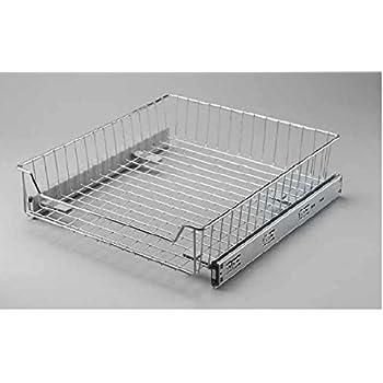 Drahtkorb-Aufbewahrungssystem für Küchenschrank, Ausziehbar, sanft ...