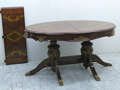 LouisXV table d'extension Table Baroque Rococo MoTa0823