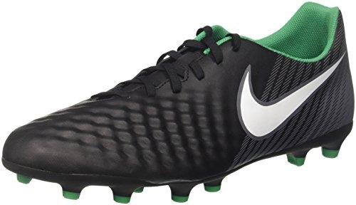 Nike Men's Magista Ola Ii Fg Football Boots, Black (Black/White/Dark Grey/Stadium Green),...