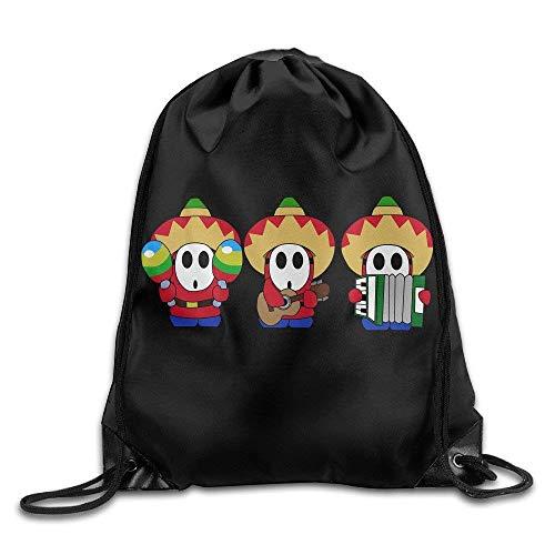Mario Shy Guy Drawstring Backpacks Sack Tasche/Tasches ()