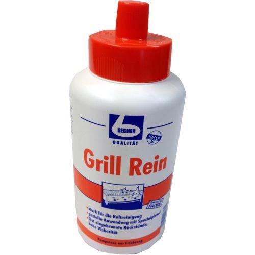 Dr. Becher Grill-Rein mit Pinsel (1 Liter Flasche)
