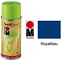 Marabu Textil Design Colorspray, 150ml, Royalblau