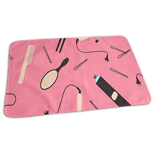 Bikofhd Hair Barber Tools Baby Reusable Changing Pad Portable Changing Mat -