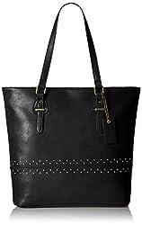 Caprese Sue Women's Tote Bag (Black)