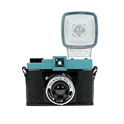 Lomography Diana F+ Medium Format Camera with Flash