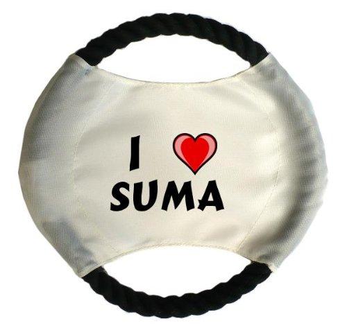 personalisierter-hundefrisbee-mit-aufschrift-ich-liebe-suma-vorname-zuname-spitzname