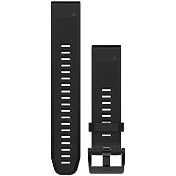 Garmin - Bracelet de Rechange pour Montres Fenix 5 - QuickFit - 22 mm - Silicone