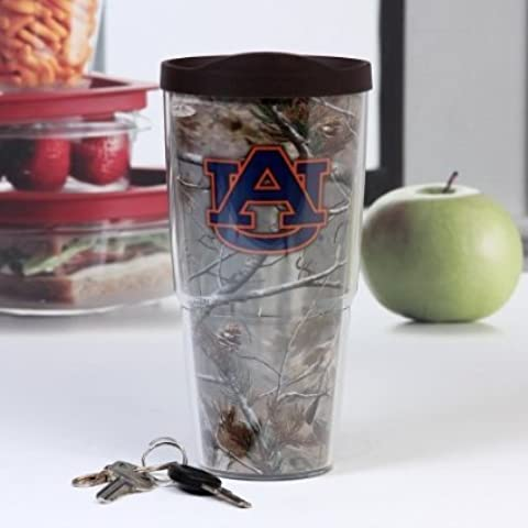 Tervis Tumbler Auburn Tigers Realtree Camo Wrap 24oz with Travel Lid by Tervis