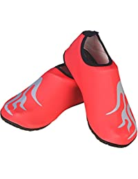 Oriskey Unisexe Barefoot Aqua Peau Chaussures Chaussettes Eau Sports pour Beach Beach Natation Surf Yoga Fitness d'exercice