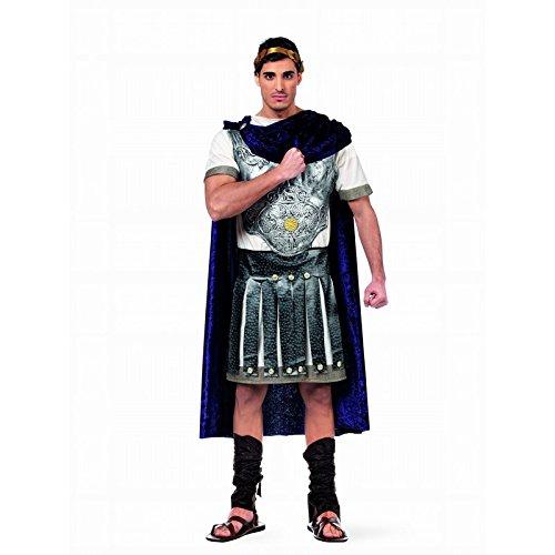 Deluxe-Kostüm/Karneval, Theater für Herren–Legionär römischen Gr. Small, Weiß - weiß