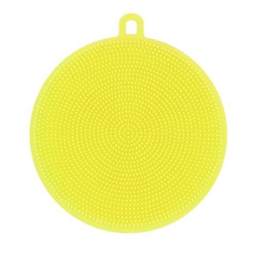 Prevently 2 Stück Silikon Dish Washing Sponge Scrubber Küche Reinigung antibakterielle Werkzeug...
