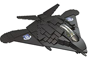 BANBAO World Defence Force F-117 Spy Fighter (250 pcs) Construction Bricks 8704