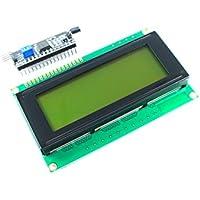 2004A LCD-Display, 20 Zeichen x 4 Zeilen, Blau, inkl. I2C-Schnittstellenmodul, HD44780-Chipsatz
