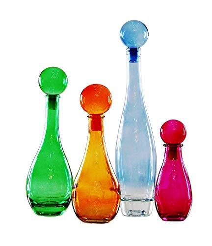 koflasche 20 , 25 , 30 , 40 cm Glasflasche Karaffee Deko Apotheke Flasche Likörflasche Apothekerglas Vintage Glas ()