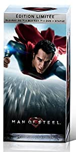 Man of Steel - Coffret Collector - DVD + Blu-ray + Blu-ray 3D + Copie Numérique + Statue collector [Édition limitée Blu-ray 3D + Blu-ray + DVD + Statue]