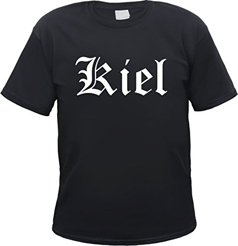 KIEL T-Shirt Schwarz