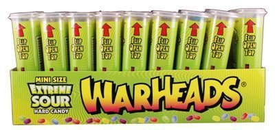 Extreme Sour Mini Size 18Ct 1 UNIT PACK by Warheads ()