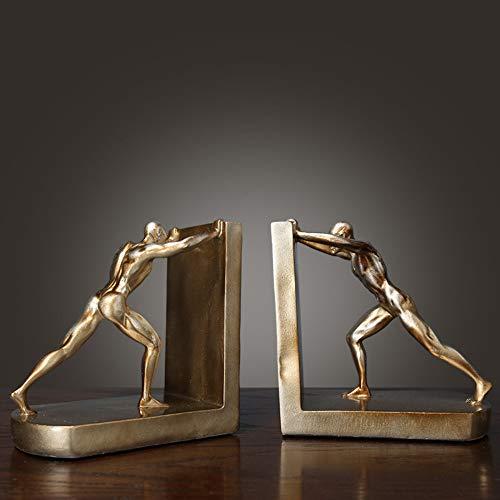 statue soprammobile statuine il retro studio creativo europeo del vino armadietto del vino delle decorazioni degli ornamenti mette in mostra gli sport che spingono i reggilibri prenotano dal libro