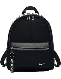 Nike Just Do It Black Backpack Rucksack Gym School PE Bag Kids Junior Boys Child