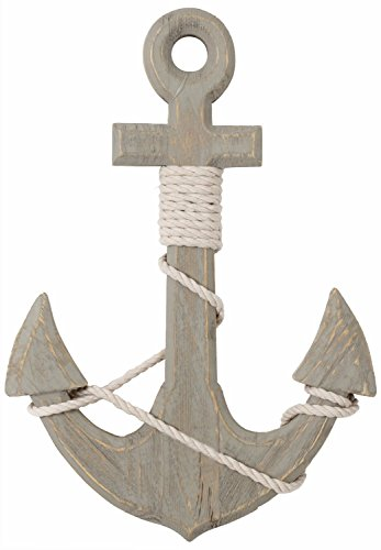 46cm-nautical-home-accessory-seashore-wooden-ships-anchor-decoration