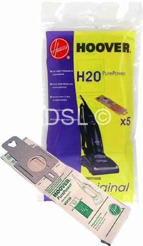 Hoover H20 Dust Bags - - to fit Purepower Upright Vacuum Cleaner by Hoover