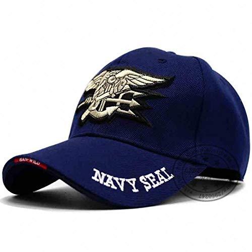VKGJMHD Marke Hohe Qualität Us Navy Bestickt Navy Seal Team Baseball Cap Polizei Taktische Kappe Hut Usa Low Profile Cap Für Männer