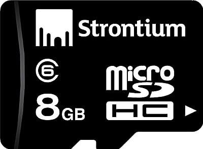 Strontium MicroSDHC Memory Card (Class 6)
