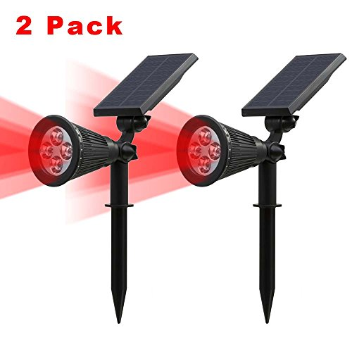 2-pack250-lumenst-sun-led-solar-spotlight-4-led-red-waterproof-outdoor-security-garden-landscape-lam