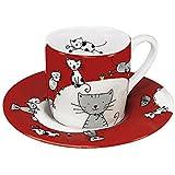 Espressoset Globetrotter - Cat