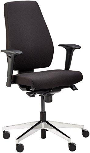 Amstyle Design Bürostuhl Darius, mit Stoff-Bezug, Design Schreibtisch-Stuhl mit Synchromechanik und...