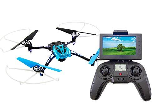 XciteRC 15014180 - Rocket 250 3D FPV, 4 Kanal RTF Quadrocopter, blau