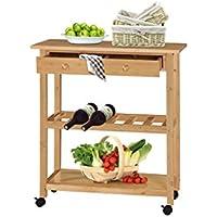 Suchergebnis auf Amazon.de für: Massiv - Küchenwagen / Küche: Küche ...