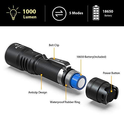 Zoom IMG-3 elekin torcia led alta potenza