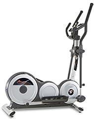 BH Fitness ATLANTIC DUAL G2525L Crosstrainer Ellipsentrainer - Anschluss von Smartphones/Tablets - 24 Schwierigkeitsniveaus - 12 vordefinierte Profile