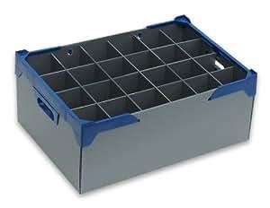 190 24 boite de rangement pour verres vin largeur 80 mm. Black Bedroom Furniture Sets. Home Design Ideas