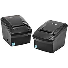 Bixolon SRP-330II Terminal de Punto de Venta Impresora de recibo POS con interfaz para conexión de red y cortador automático. Impresión Térmica Directa. ETHERNET, SERIAL, USB