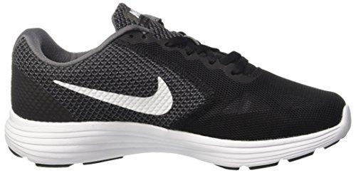 Nike Wmns Revolution 3 W, Chaussures de Running Entrainement Femme Gris (Dark Grey/white/black)
