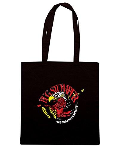 T-Shirtshock - Borsa Shopping TF0029 inspired by Aliens Nero