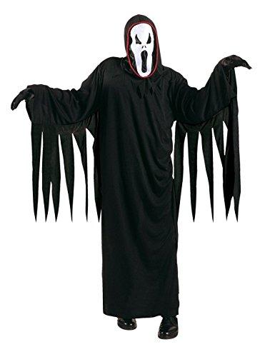 Größe 128-5 - 7 Jahre - Kostüm - Verkleidung - Karneval - Halloween - Monster - Assassine - Schwarze Farbe - Unisex - Kinder - ()