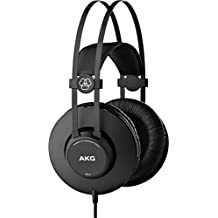 AKG K52 Circumaural Head-band Black - headphones (Circumaural, Head-band, 18 - 20000 Hz, 200 mW, (Monitor Cuffie Professionali)