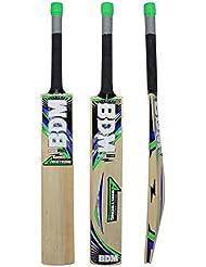 Armstrong BDM bate de cricket lleva la caja de Cachemira Willow Wood tamaños adultos Mango Corto - Elija Peso