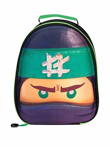 Style It Up ,  Kinderrucksack, Lego Ninjago - Green Ninja (Lloyd) (Schwarz) - KIDS-LUNCH-BAGS Ninja Lego Rucksack